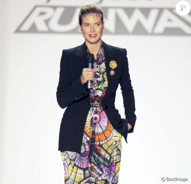 Heidi Klum a lancé la 11e saison de son émission Project Runway à New York