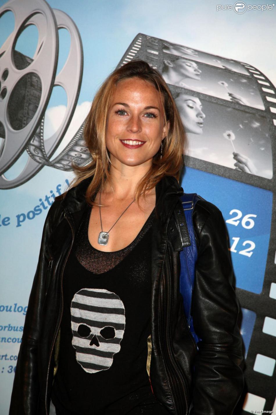 Aurélie Vaneck le 23 mars 2012 à Boulogne-Billancourt.