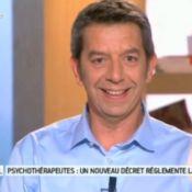 Michel Cymes blagueur mais sensible  : 'Je suis un papa angoissé'