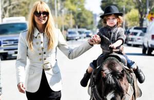 Rachel Zoe : Sur son poney, son fils Skyler joue les cow-boys des temps modernes