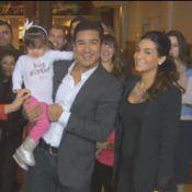 Mario Lopez et Courtney Mazza : Bébé en route pour les jeunes mariés