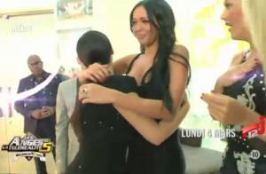 Les Anges de la télé-réalité 5 : Nabilla craque devant son modèle Kim Kardashian