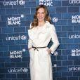 Hilary Swank au brunch organisé par Montblanc au profit de l'Unicef, à Los Angeles, le 23 février 2013.
