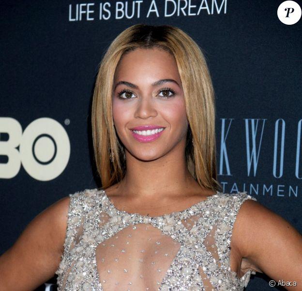 Beyoncé Knowles à New York, le 12 février 2013.