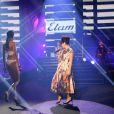 Lily Allen a fait son retour sur scène pour le show Etam lingerie le 26 février à la bourse du commerce de Paris