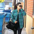 Kim Kardashian, enceinte, se rend à son cours de gym à Studio City, le 28 février 2013.
