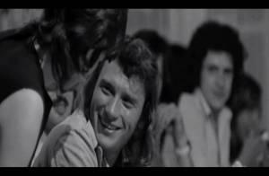 Johnny Hallyday bouleversant à 20 ans et aujourd'hui dans son nouveau clip
