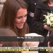 Kate Middleton enceinte d'une fille ? La vidéo de sa gaffe royale