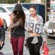 Selena Gomez se rendant au studio de danse, camouflée, à Beverly Hills le 8 mars 2013.