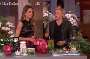 Jessica Alba chez Ellen DeGeneres : Leçon de cuisine qui dérape !