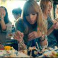 """La chanteuse Taylor Swift dans son nouveau clip, """"22"""", révélé le mercredi 13 mars 2013."""