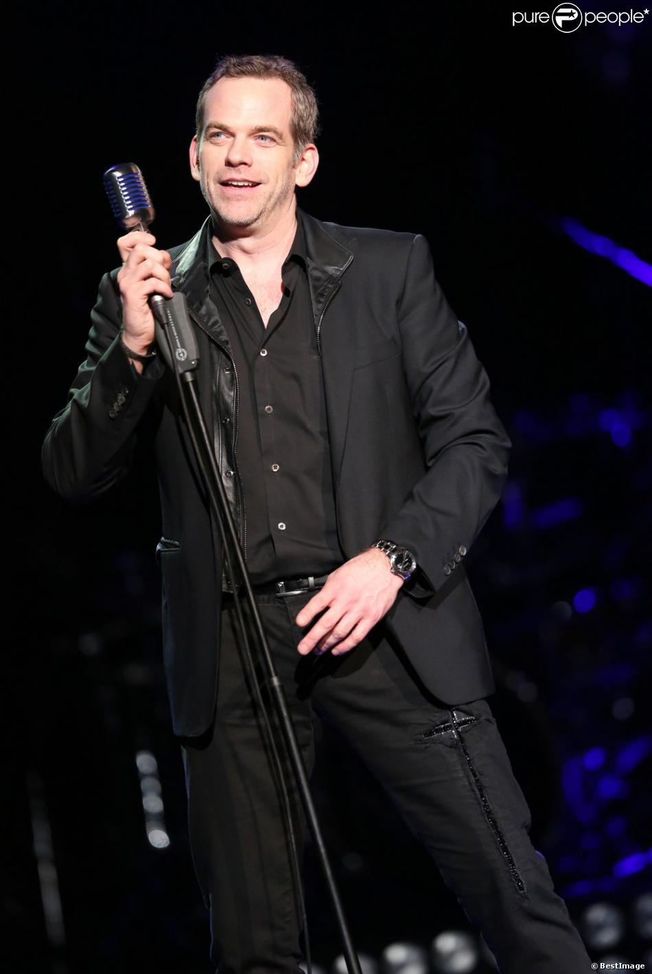 Garou en concert à l'Olympia le 30 Janvier 2013.