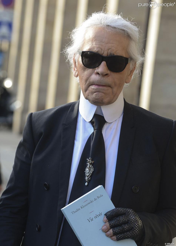 Karl lagerfeld quitte la librairie galignani avec le livre vie r v e de thad - Karl lagerfeld jeunesse ...