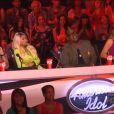 Nicki Minaj et le jury dans American Idol, jeudi 14 mars 2013.