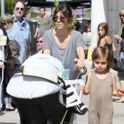 Kourtney Kardashian et Scott Disick : Une belle famille unie, loin des drames