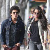 Bruno Mars : Sortie en amoureux avec Jessica Caban avant de partir en tournée
