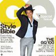 Bruno Mars fait la couverture de GQ USA dans l'édition du mois d'avril 2013.