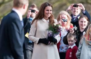 Kate Middleton : Radieuse, la crème des futures mamans en visite avec William