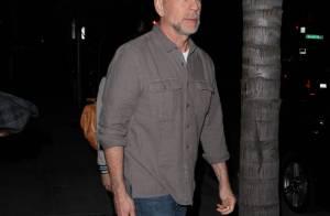 Bruce Willis : Anniversaire avec sa femme et ses filles, sans Demi Moore