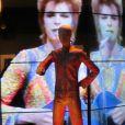 """Des images de l'exposition """"David Bowie Is"""" au Victoria and Albert Museum à Londres à partir du 23 mars 2013."""