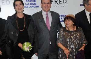 Caroline et Albert de Monaco: Dans la Baie des anges avec Agnès Varda en famille