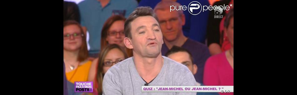 Jean-Michel de  L'amour est dans le pré  dans  Touche pas à mon poste , le lundi 18 mars 2013 sur D8