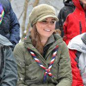 Kate Middleton, enceinte : Baroudeuse craquante pour les scouts, sous la neige