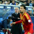 Didier Deschamps au Stade de France pour le match France-Espagne (0-1) le 26 mars 2013.