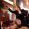 Nathalie Kosciusko-Morizet poursuit sa campagne pour les municipales à Paris, le 27 mars 2013.