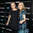 Diane Kruger et son alter-ego Saoirse Ronan à la projection du film Les Ames Vagabondes (The Host) à New York le 27 mars 2013.