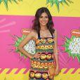 Victoria Justice sur le tapis rouge de Nickelodeon.