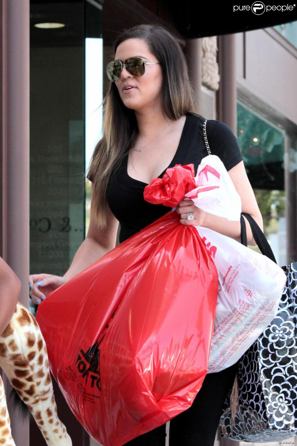 Khloe Kardashian à Los Angeles, le 22 mars 2013.