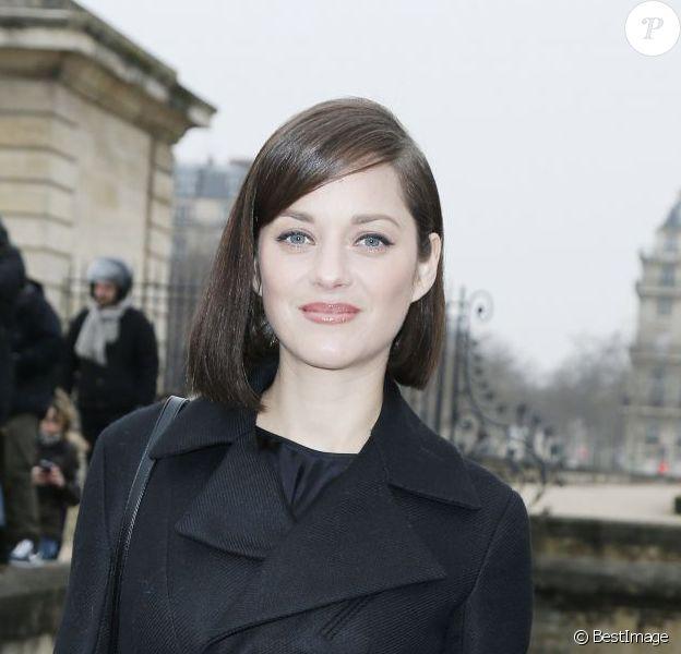 Marion Cotillard lors du défilé Christian Dior le 1er mars 2013