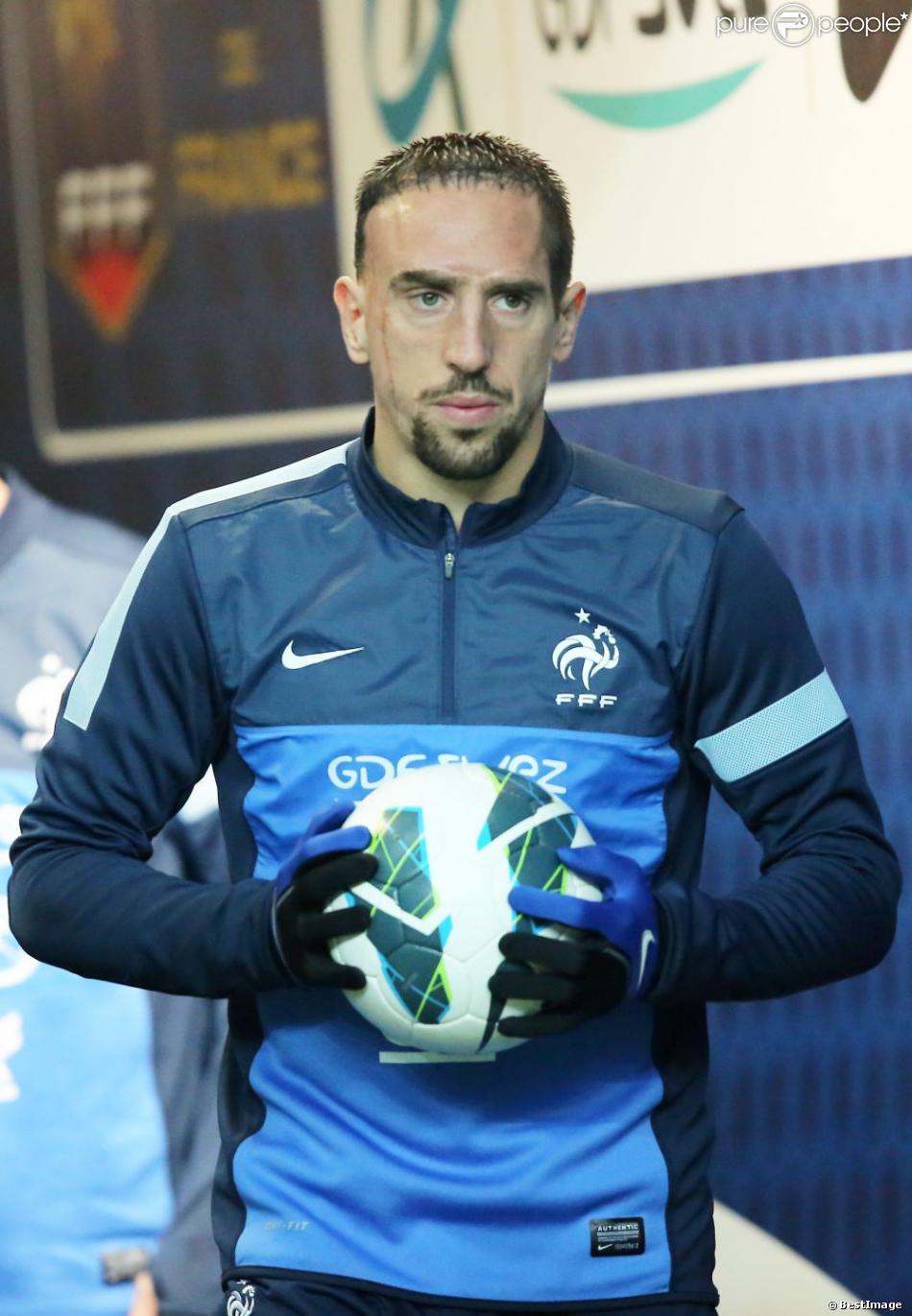 Franck ribery match comptant pour la qualification de la - Prochaine coupe du monde de football ...