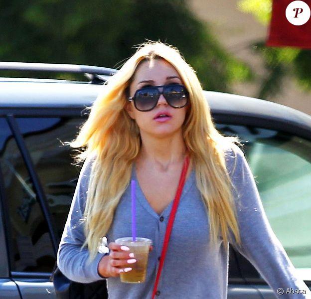 Amanda Bynes à Los Angeles, le 26 août 2012.