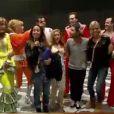 Les Anges et la troupe de Mamma Mia dans les Anges de la télé-réalité 5, vendredi 5 avril 2013 sur NRJ12