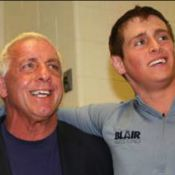 Wrestlemania XXIX : Ric Flair en deuil assiste au combat The Rock - John Cena