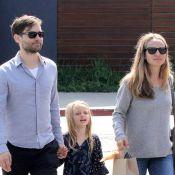 Tobey Maguire : En attendant la promo de Gatsby, il chouchoute sa petite famille