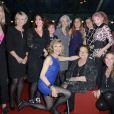 Le jury 2013 composé notamment de Sophie Davant, Nathalie Rykiel, Arielle Dombasle, Anne-Claire Coudray - 7e Prix de la Closerie des Lilas à Paris le 9 avril 2013.
