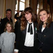 Lou Doillon chevalier : Son fils Marlowe très fier, Jane Birkin aux anges