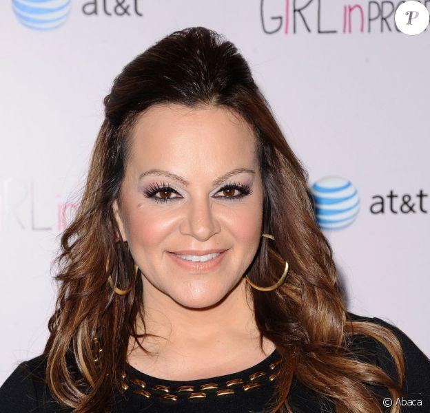 Jenni Rivera à la projection de Girl in progress à Los Angeles le 2 mai 2012. La chanteuse est décédée le 9 décembre dernier dans un tragique accident d'avion.
