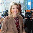 La princesse Maxima des Pays-Bas intervenait le 11 avril 2013 au théâtre Beatrix d'Utrecht dans le cadre de la semaine de l'entrepreneuriat.