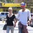 Chad Michael Murray et sa belle Kenzie Dalton le 12 avril 2013.