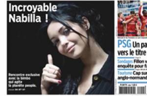 Nabilla rêve de cinéma : ''Jean Dujardin, je le trouve trop sexy''