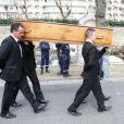 Obsèques d'Antoine Veil au cimetière du Montparnasse à Paris le 15 avril 2013.