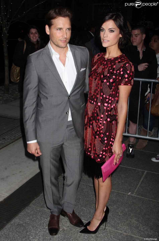 Peter Facinelli et Jaimie Alexander lors de la première du film Pain & Gain à New York, le 15 avril 2013.