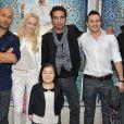 Eric Judor, Sonia Gleis, Farid Elouardi, Martin Pautard et Helene Su à la première du film Mohamed Dubois au Gaumont Opéra, Paris, le 16 avril 2013.