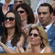 Pippa et James Middleton à Wimbledon fin juin 2012