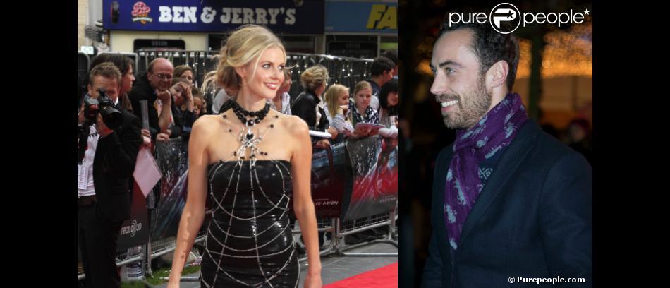 Entre Donna Air et James Middleton, une belle histoire a commencé en février 2013...