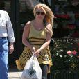 Britney Spears fait du shopping à Los Angeles, le 19 avril 2013.